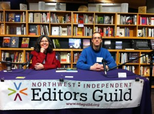With Jason Black, Northwest Independent Editors Guild