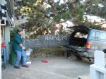 harveys sign moving