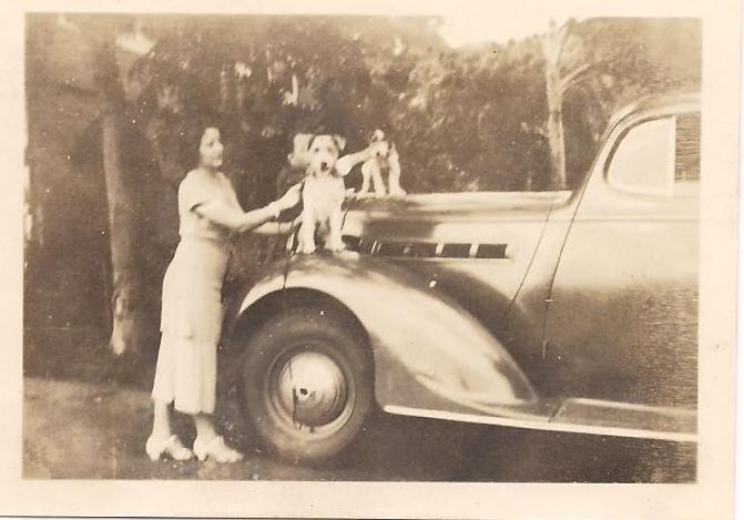 Grandma, Peter, and Lady Lou.